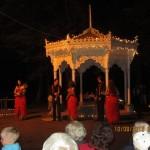 Svētku ieskaņas koncerts pie Ķirzaciņas ar The Sparkling 5 Foto: Ērika Trauberga