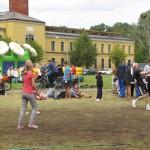 Volejbola sacensības. Foto: Aija Pendere