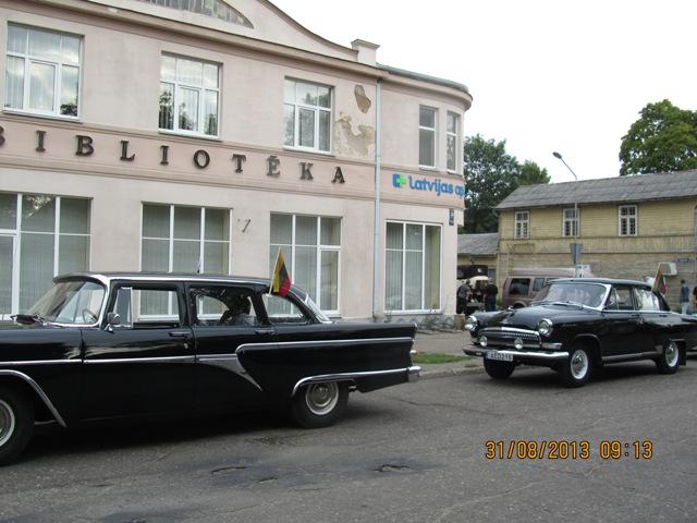 Retro auto parāde 2013. Foto: Ērika Trauberga